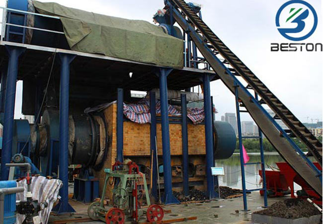 Industrial Sludge Carbonization Plant