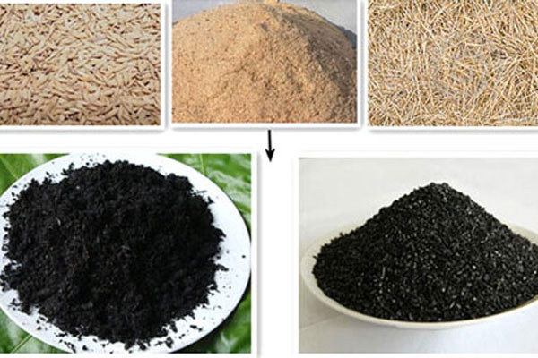 Straw Charcoal