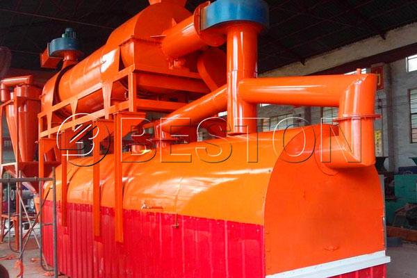 sludge carbonization machine