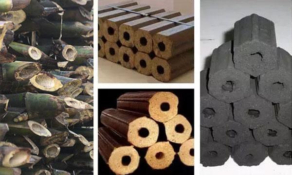 making bamboo charcoal