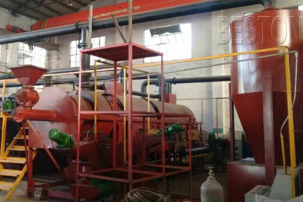 Beston Smokeless Carbonization Equipment