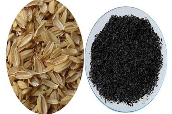 Rice Husk Carbonization