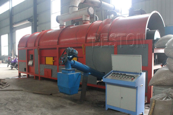 Straw Charcoal Plant