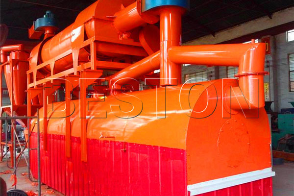 rice hull carbonizer