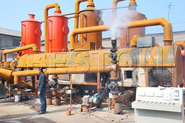 Continuous Bamboo Carbonization Equipment