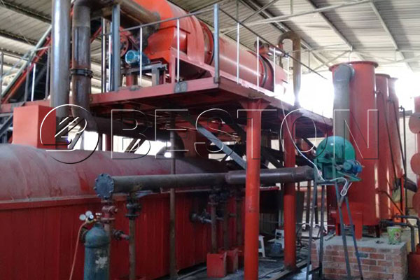 Beston Carbonizing Machine for Eucalyptus Bark