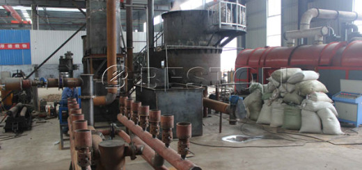 Continuous Sawdust Carbonization Machine