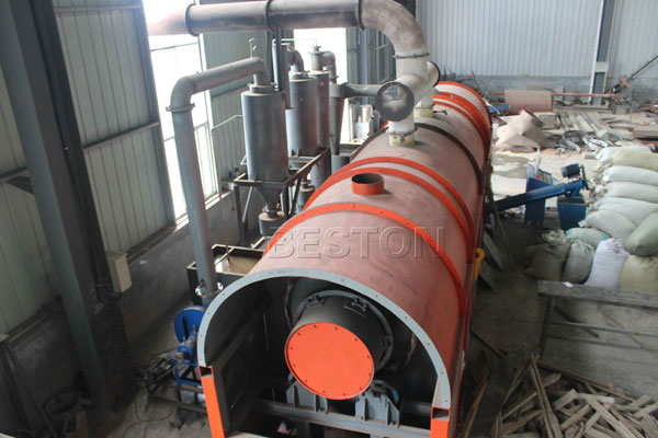 Waste Carbonization Machine
