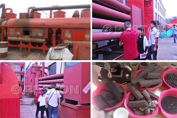 Biomass Carbonizer Machine