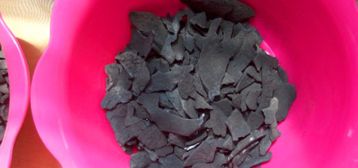 charcoal from coconut shell
