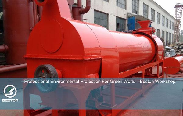 Beston biochar production machine