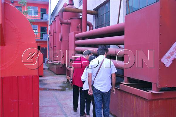 biochar pyrolysis equipment
