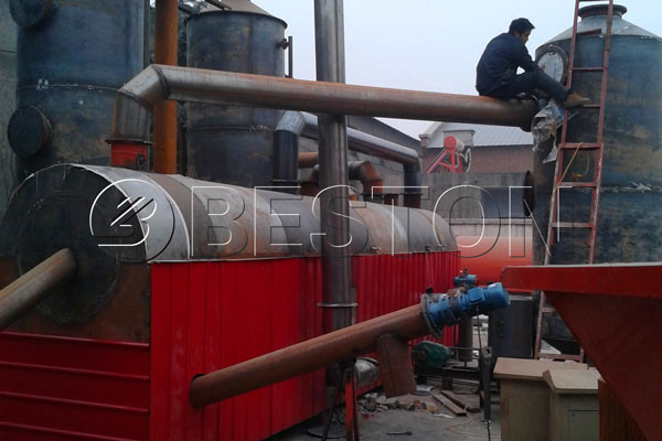 waste carbonization system