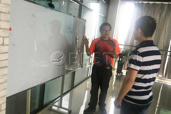 Singapore customer was leaning about carbonation plant project