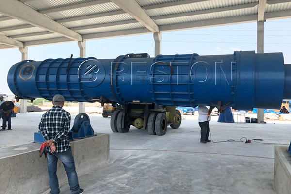 Beston Charcoal Making Plant Installation in Turkey