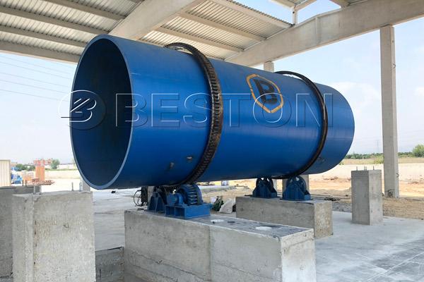 Charcoal Machine BST-50 Installation in Turkey