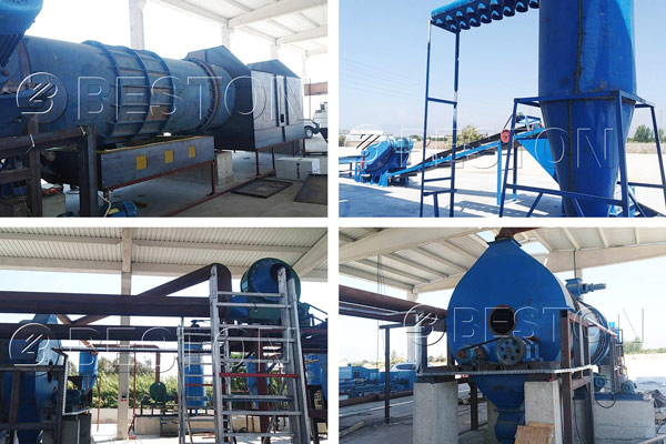 Beston Charcoal Making Plant Installed in Turkey in August, 2018