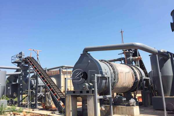 Beston Palm Kernel Shell Carbonization Machine for Sale