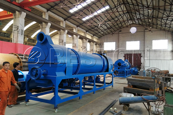 Beston Palm Kernel Shell Charcoal Machine for Sale