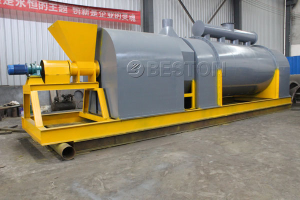Beston Palm Kernel Shell Charcoal Making Furnace with High Quality