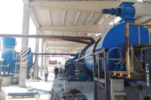 Installation of Beston Charcoal Making Plant in Turkey in August, 2018
