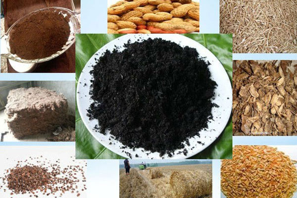 Raw Materials for Making Charcoal