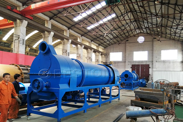 Beston Biochar Making Machine for Sale in South Africa