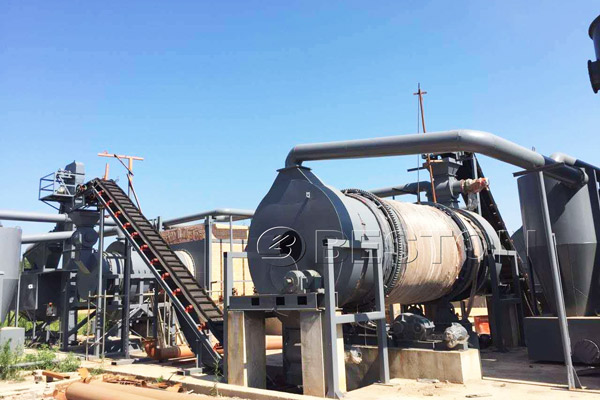 Beston Charcoal Making Equipment to Carbonize Municipal Solid Waste