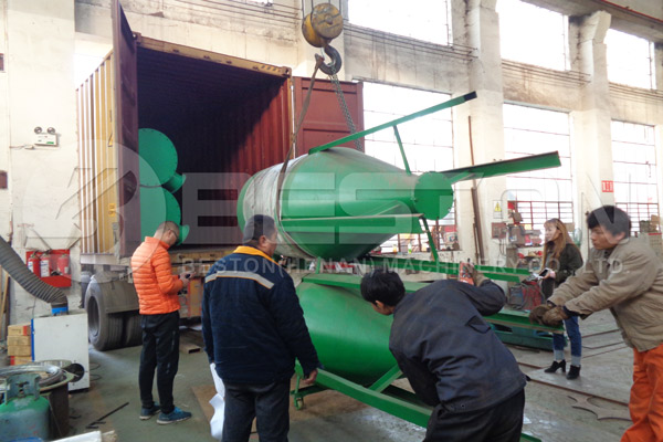 Shipment of Shisha Charcoal Equipment Spain
