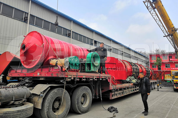 Sawdust Charcoal Machine Shipped to Russia
