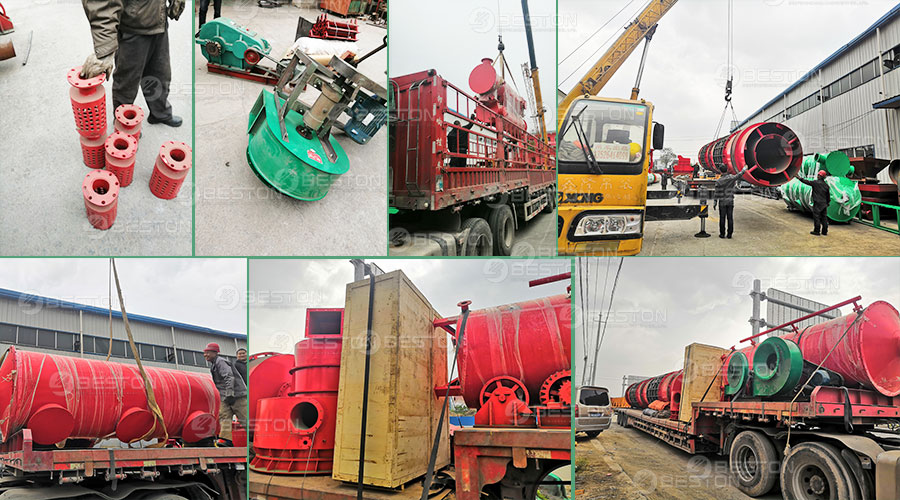 Sawdust Charcoal Making Machine Shipped to Russia