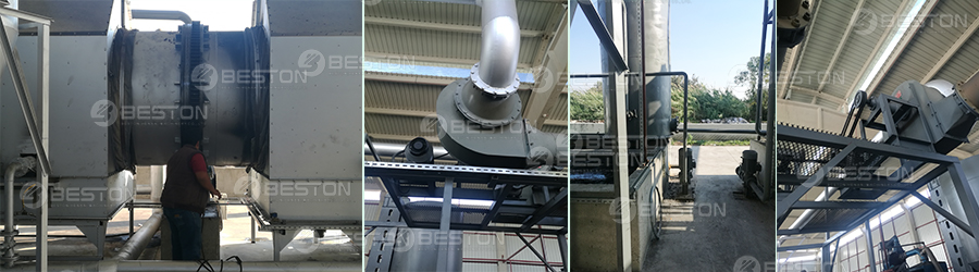 Wood Pyrolysis Plant Installed in Turkey