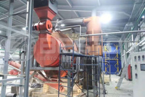 BST-50 Sawdust Charcoal Machine Shipped to Ukraine