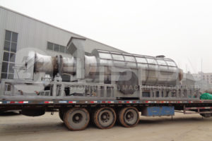 Charcoal Machine Shippped to Ghana