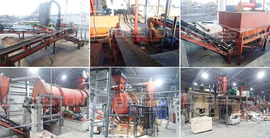 Sawdust Charcoal Making Machine Shipped to Ukraine
